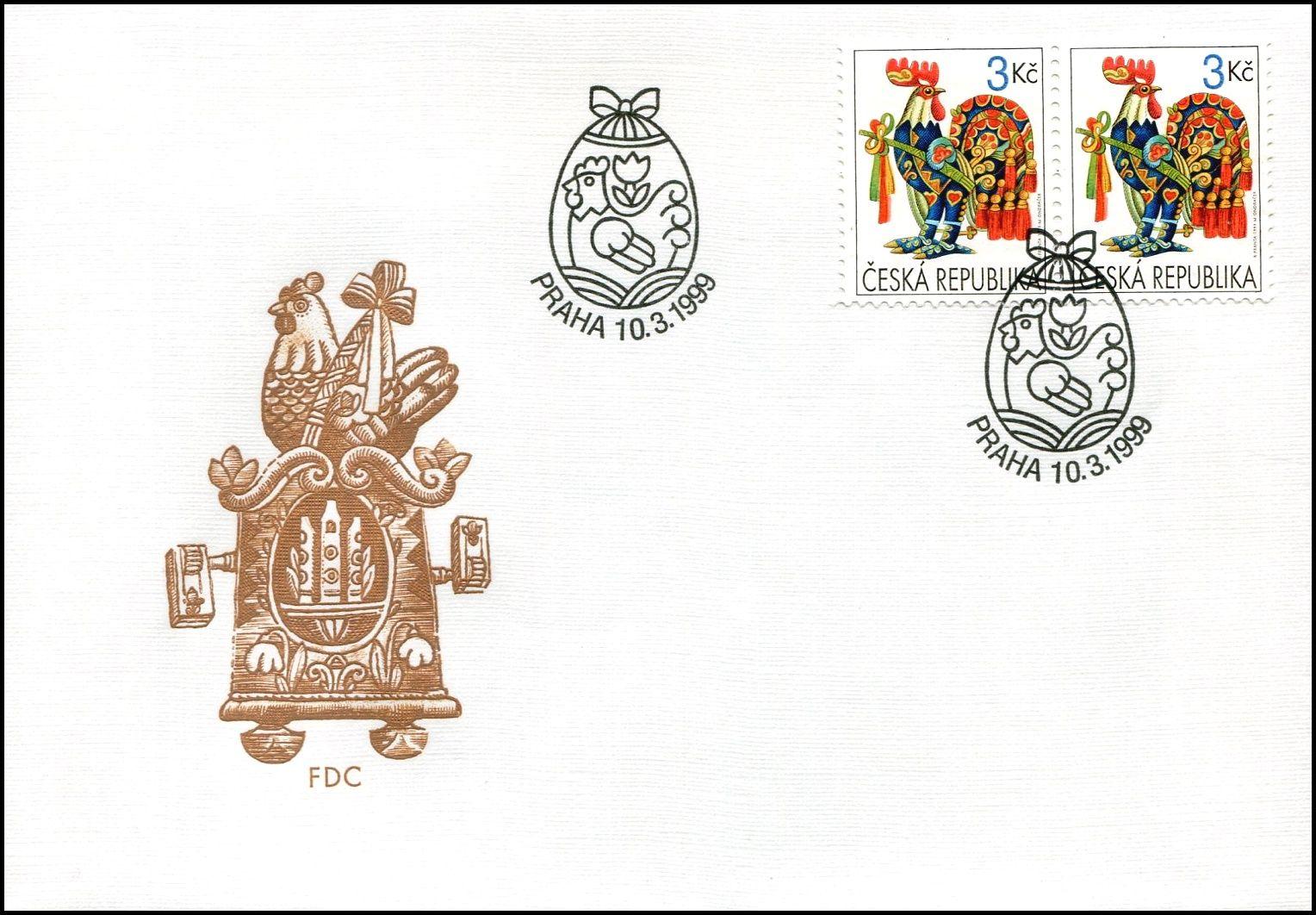 Česká pošta (1999) FDC 208 - Velikonoce