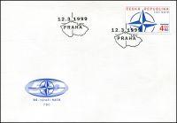 (1999) FDC 213 - Vstup České republiky do NATO