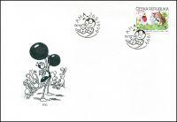 (1999) FDC 219 - Dětem - Ferda mravenec