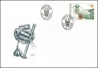(1999) FDC 222 - 223 - Joachim Barrande a čeští trilobiti (2)