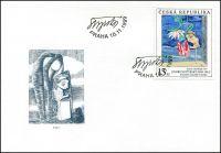 (1999) FDC 237 - 239 - Umění 1999 (3)