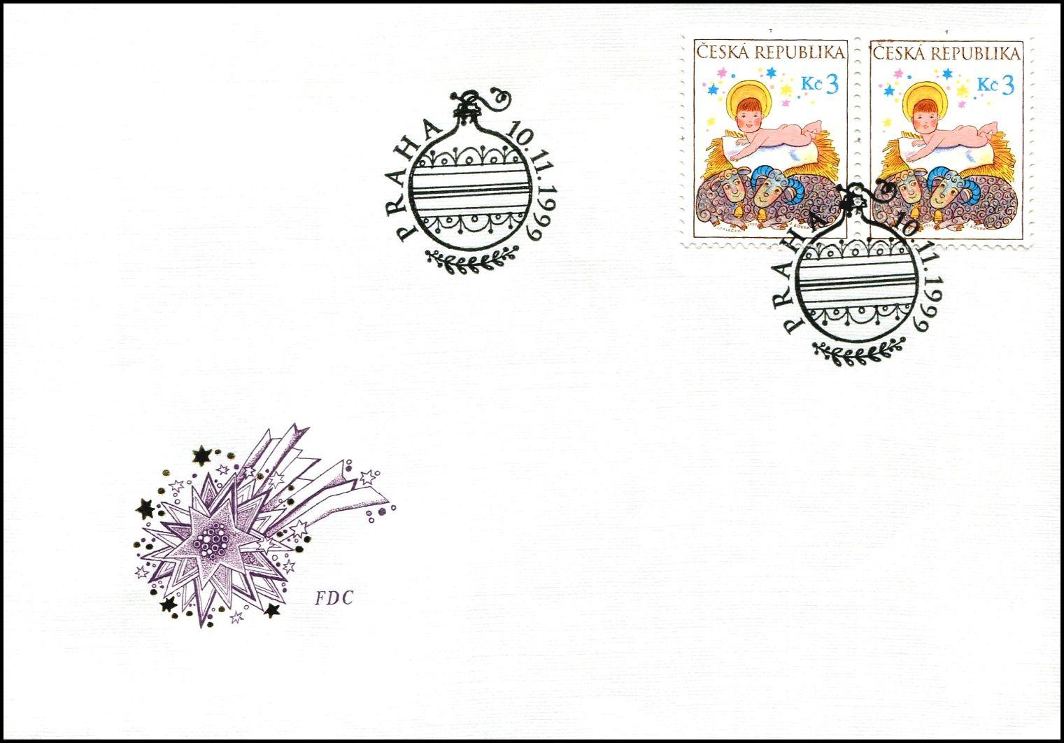 Česká pošta (1999) FDC 240 - Vánoce