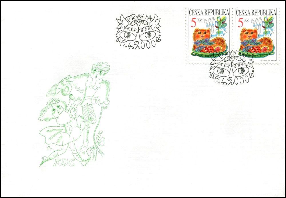 Česká pošta (2000) FDC 249 - Velikonoce