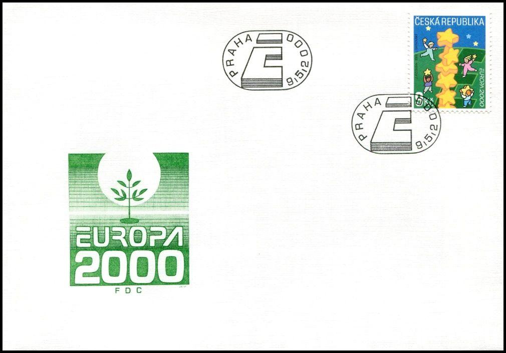 Česká pošta (2000) FDC 253 - EUROPA