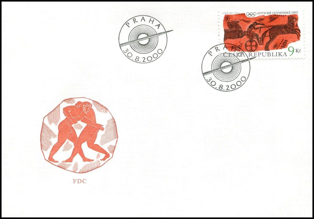 (2000) FDC 269 - Antické Olympijské hry