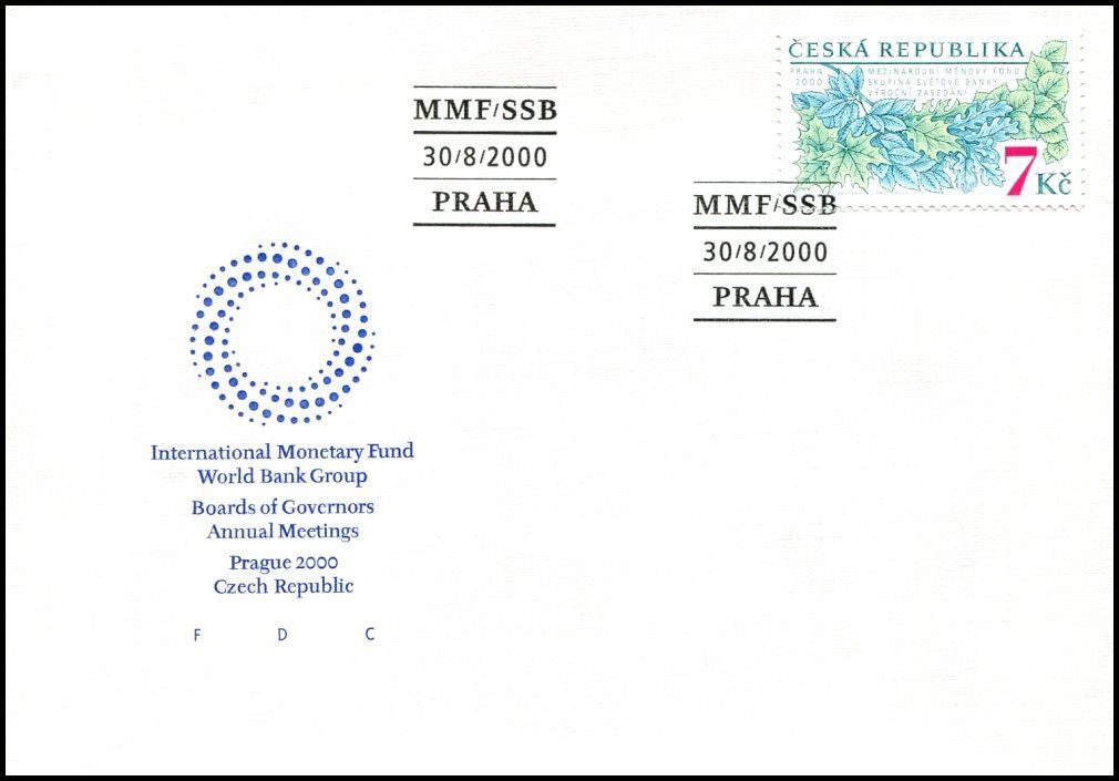 (2000) FDC 270 - Výroční zasedání MMF