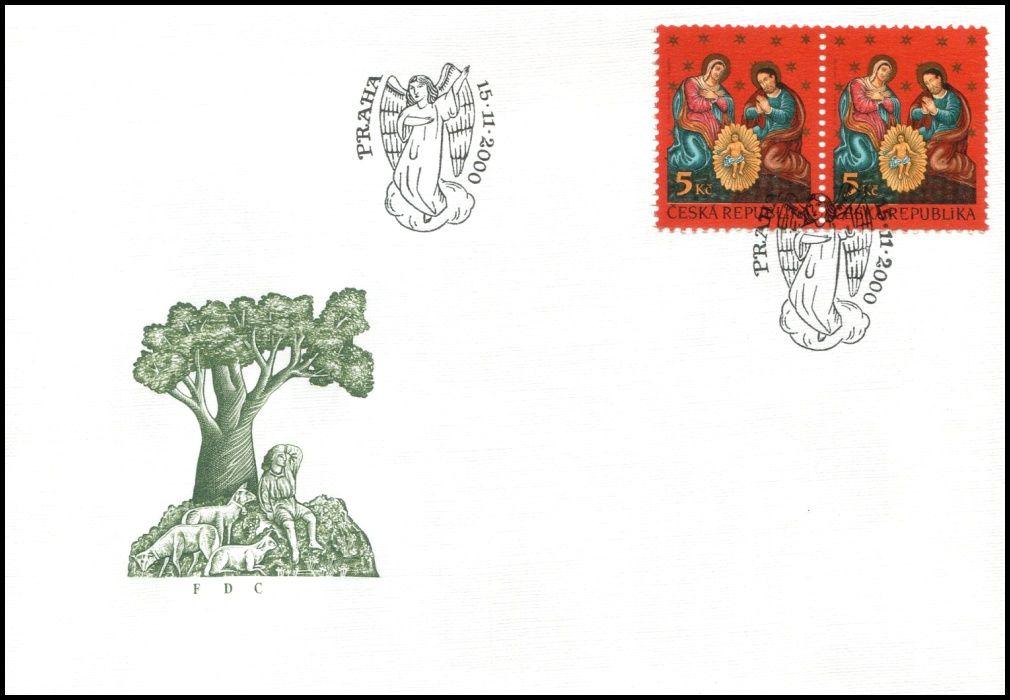 Česká pošta (2000) FDC 278 - Vánoce