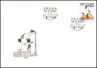 (2001) FDC 292 - Dětem - Maxipes Fík