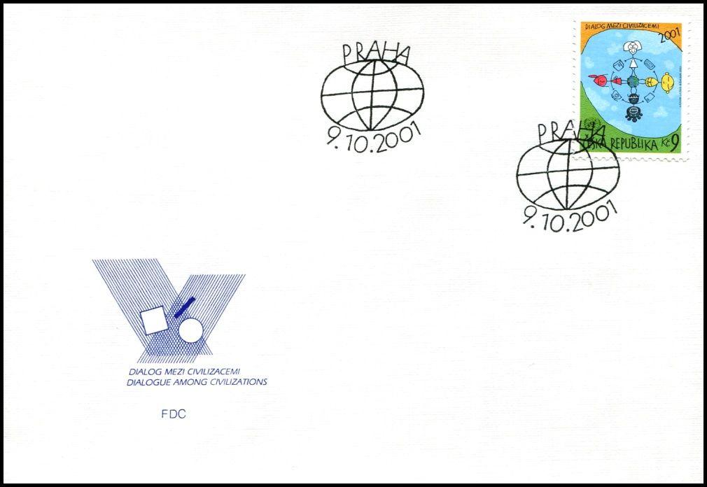 (2001) FDC 308 - Dialog mezi civilizacemi