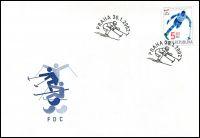 (2002) FDC 315 - Zimní paralympijské hry v Salt Lake City