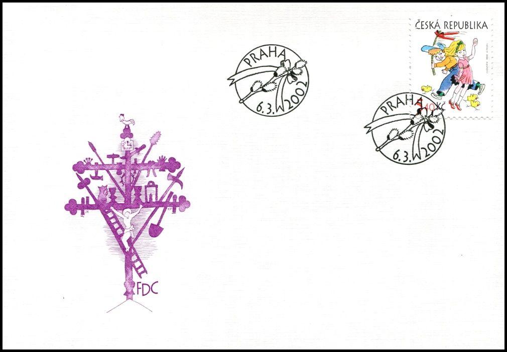 (2002) FDC 317 - Velikonoce