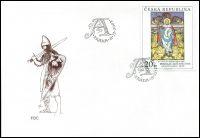 (2002) FDC 343 - 345 - Umění 2002 II. (3)