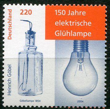 (2004) MiNr. 2395 ** - Německo - 150 let elektrické žárovky