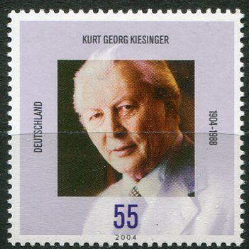 (2004) MiNr. 2396 ** - Německo - 100. narozeniny Kurt Georg Kiesinger