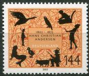 (2005) MiNr. 2453 ** - Německo - 200. narozenin Hanse Christiana Andersena