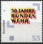 (2005) MiNr. 2497 ** - Německo - 50 let Bundeswehru
