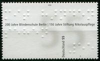 (2006) MiNr. 2525 ** - Německo - 200 let školy pro nevidomé Berlín; 150 roků založení Nikolauspflege