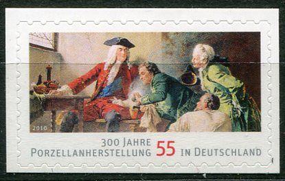 (2010) MiNr. 2816 ** - Německo - 300 let výroby porcelánu v Německu - samolepicí