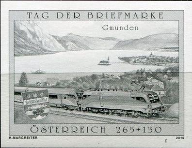 (2010) MiNr. 2887 - Rakousko - černotisk - Den poštovních známek