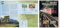 (2012) Rakousko - Upomínkový list - 100 let Waldbahn