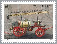 (2013) MiNr. 3089 ** - Rakousko - 150 let dobrovolných hasičů