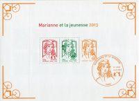 (2013) MiNr. 5604 - 5618 ** - Francie - Marianna (Ciappa a Kawena)