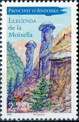 (2013) MiNr. 755 ** - Andora (Fr.) - Mýty a legendy