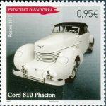 (2013) MiNr. 758 ** - Andora (Fr.) - Automobil
