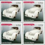 (2013) MiNr. 758 ** - Andora (Fr.) - Automobil - 4 známky