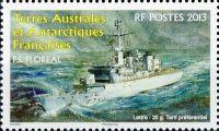 (2013) MiNr. 812 ** - Francouzská Antarktida -  Frigate