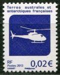 (2013) MiNr. 830 ** - Francouzská Antarktida - Vrtulník