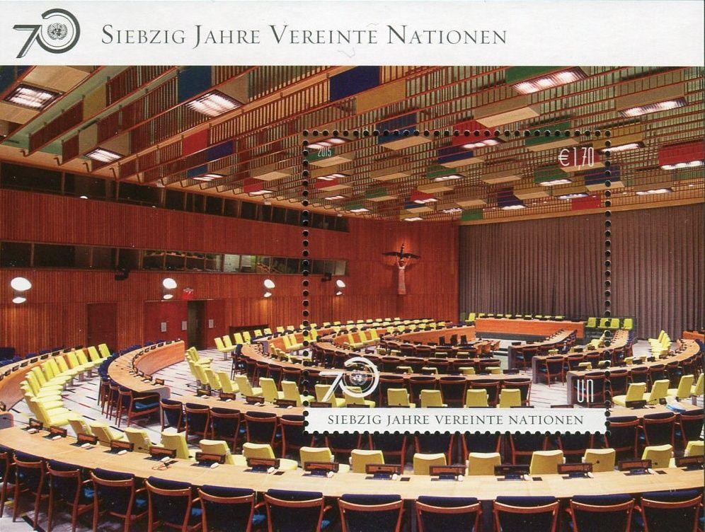 (2015) MiNr. 898 ** - OSN Vídeň - BLOCK 37 - 70 let OSN