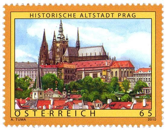 (2010) MiNr. 2862 ** - Rakousko - Praha Österreich post