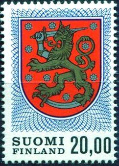 (1978) MiNr. 823 ** - Finsko - Wappenlöwe