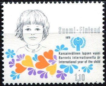 (1979) MiNr. 836 ** - Finsko - Mezinárodní rok dítěte