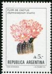 (1987) MiNr. 1855 ** - Argentina - květiny Argentina