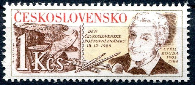 (1989) č. 2920 ** - ČSSR - Den čs. poštovní známky