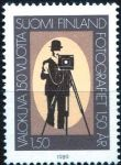 (1989) MiNr. 1072 ** - Finsko - 150 let fotografie