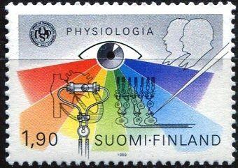 (1989) MiNr. 1073 ** - Finsko - Fyziologický výroční světový kongres, Helsinki