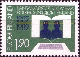 (1989) MiNr. 1095 ** - Finsko - 100 let Vzdělávání dospělých ve Finsku