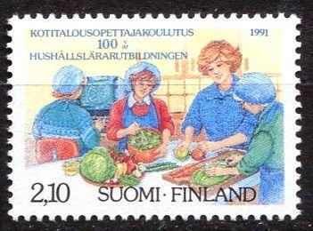 (1991) MiNr. 1131 ** - Finsko - 100 let vzdělávání učitelů domácnosti
