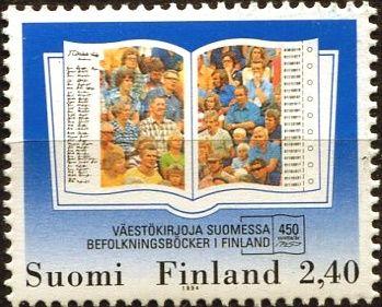 (1994) MiNr. 1269 ** - Finsko - 450 let podávání zpráv