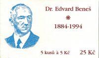 (1994) ZS 24 - Česká pošta - Dr. Edvard Beneš