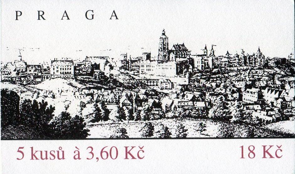 (1995) ZS 39 - Česká pošta - Praga