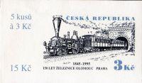 (1995) ZS 40 - Czech Post - 150 years of railways