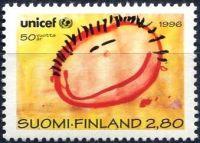 (1996) MiNr. 1331 ** - Finsko - 50 let Dětský fond OSN (UNICEF)
