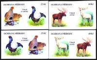 (1998) ZS 63 - 66 - Czech Post - Protecting nature - rare wildlife