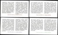 (1998) ZS 63 - 66 - Česká pošta - Ochrana přírody - Vzácná zvěř