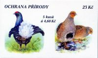 (1998) ZS 63 - Czech Post - Protecting nature - rare wildlife