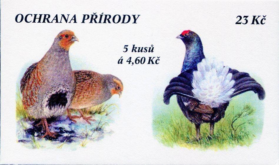 (1998) ZS 64 - Česká pošta - Ochrana přírody - Vzácná zvěř